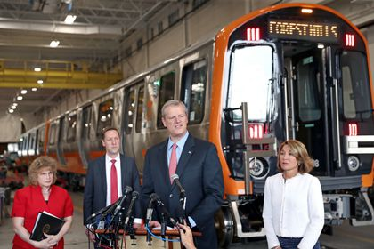 Facing pressure, Baker will seek $50 million for MBTA to speed the