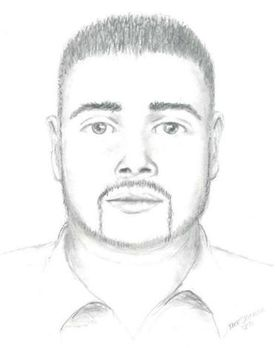 Authorities released this sketch of the suspect in the Aug. 6 rape of a 21-year-old woman.