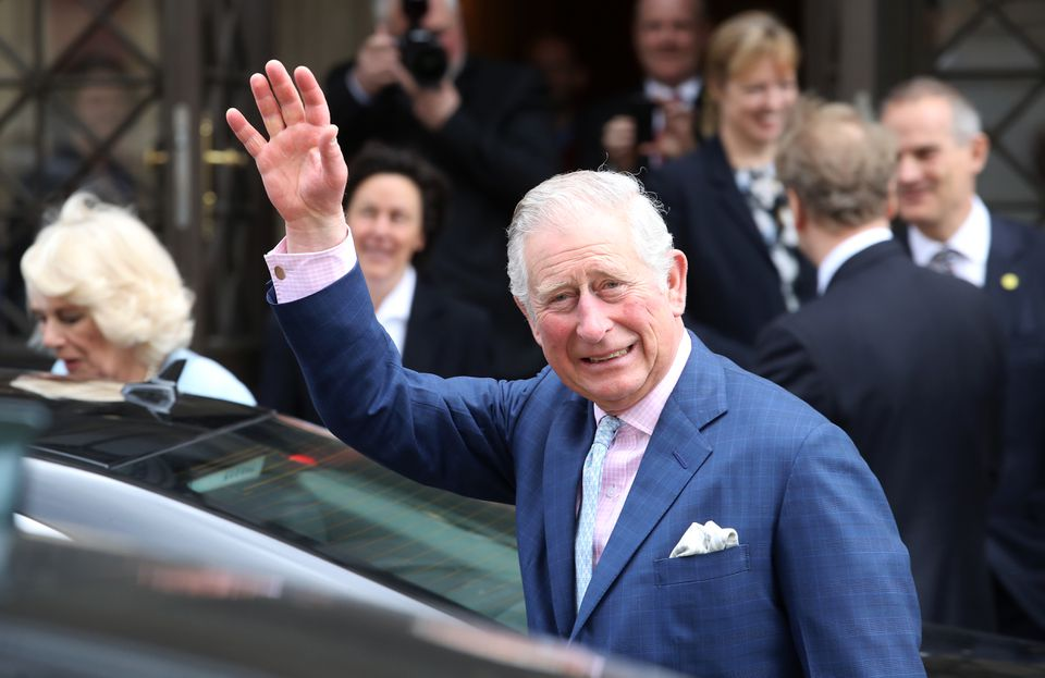 Prince Charles waved to wellwishers in Vienna, Austria, last week.