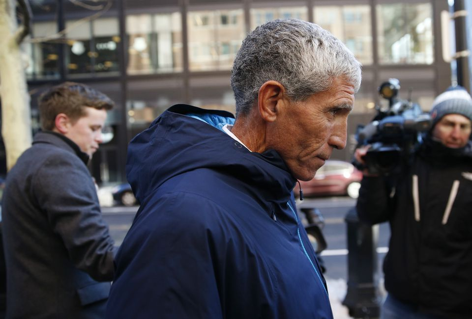 """William """"Rick"""" Singer departed Federal Court in Boston on Tuesday."""