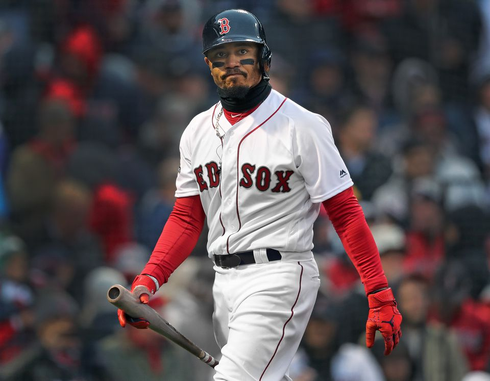 Mookie Betts has made a few uncharacteristic mental mistakes this year.