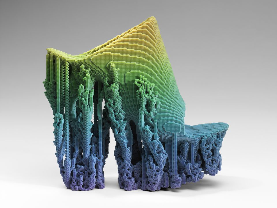 """Molecule"" Shoe by Francis Bitonti Studio Inc."