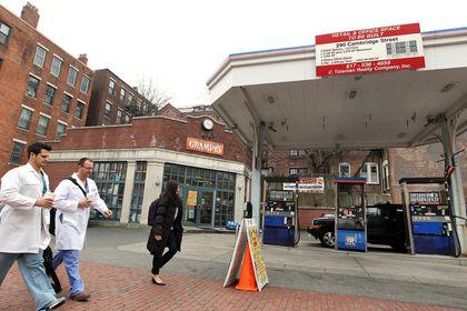 Central Boston a gas station desert - The Boston Globe