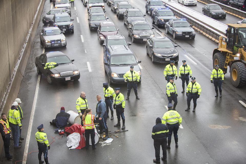 """The family of Richard McGrath, who was in an ambulance en route to a Level 1 trauma center in Boston, but was diverted to a Brockton hospital because of the protest, said it """"could not understand how a group of people supporting a cause pertaining to the value of life could put so many lives in danger.''"""