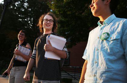 Transgender ballot activists make their pitch: 'I'm a human being