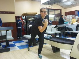 Renee Gannon, bowling with friends in Lynn, said she loves the diversity, beach and growing gay population in the city.