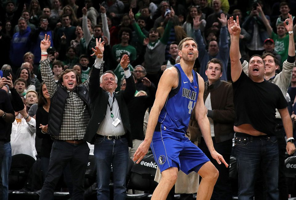 Dirk Nowitzki has an NBA championship and more than 30,000 career points during his 21 seasons in the league.