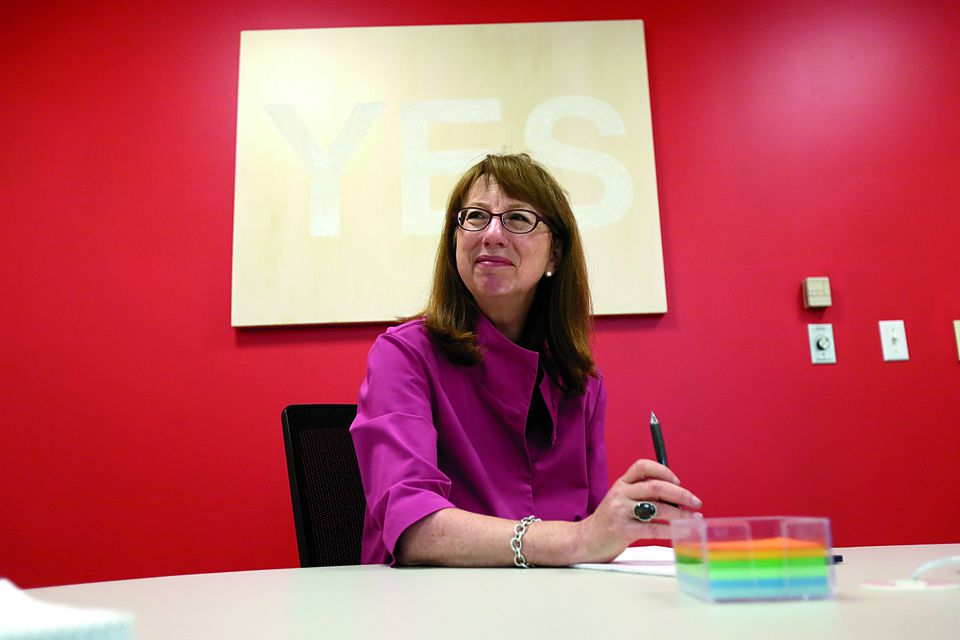 Shira Goodman is the relatively new chief executive at Staples.