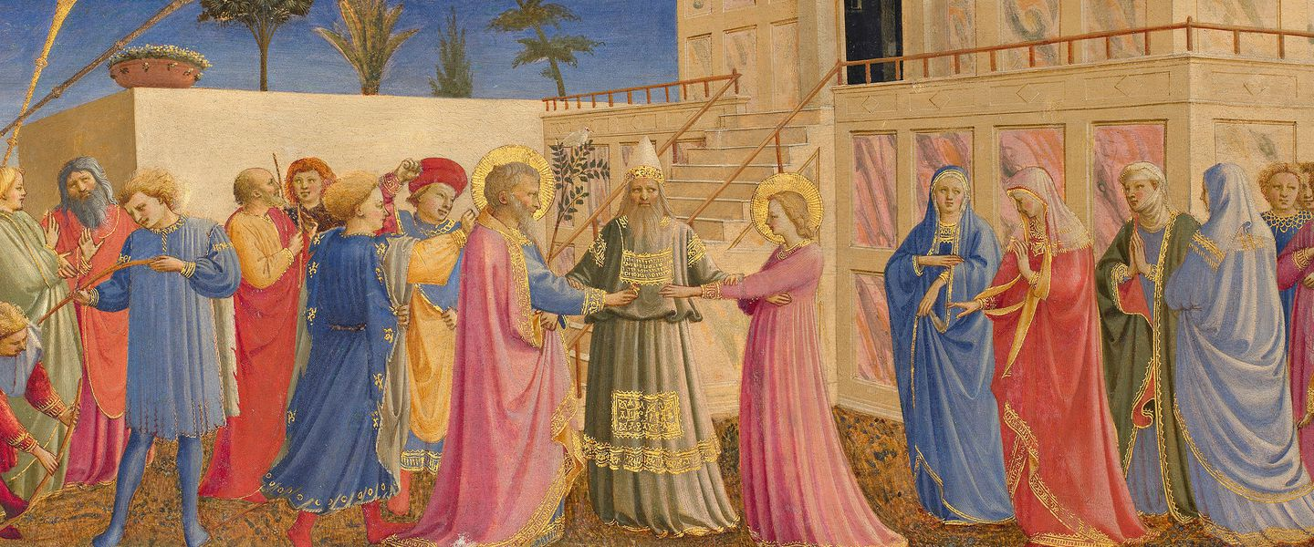"Fra Angelico's ""The Marriage of the Virgin"" will be on display at the Gardner Museum exhibition""Fra Angelico: Heaven on Earth."""