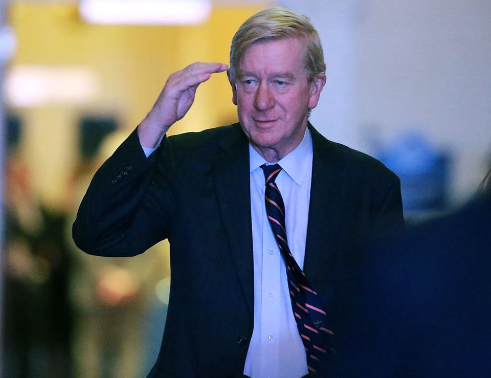 Former Massachusetts governor William Weld said he's been in favor of medical marijuana since 1992 and supported the referendum that legalized recreational pot use in his home state in 2016.