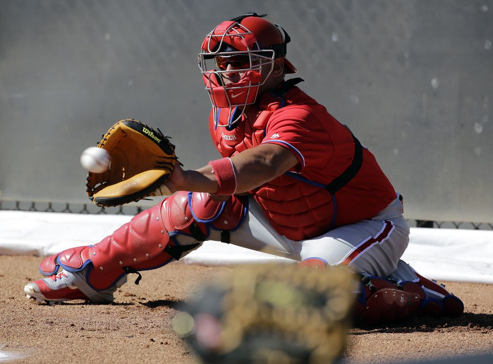 Carlos Ruiz has done a nice job catching the Phillies' young staff.