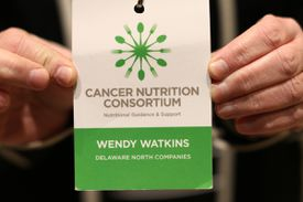 Cancer Nutrition Consortium, underwritten by Delaware North Companies, unites top cancer centers, food service companies, and master chefs.