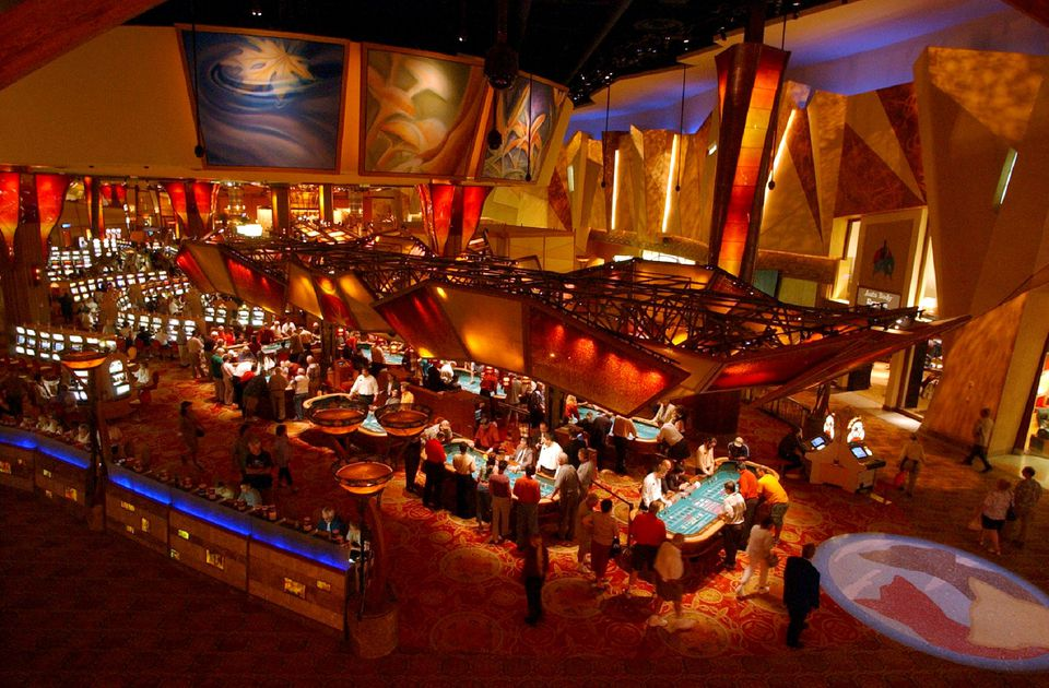 The Casino of the Sky at the Mohegan Sun.