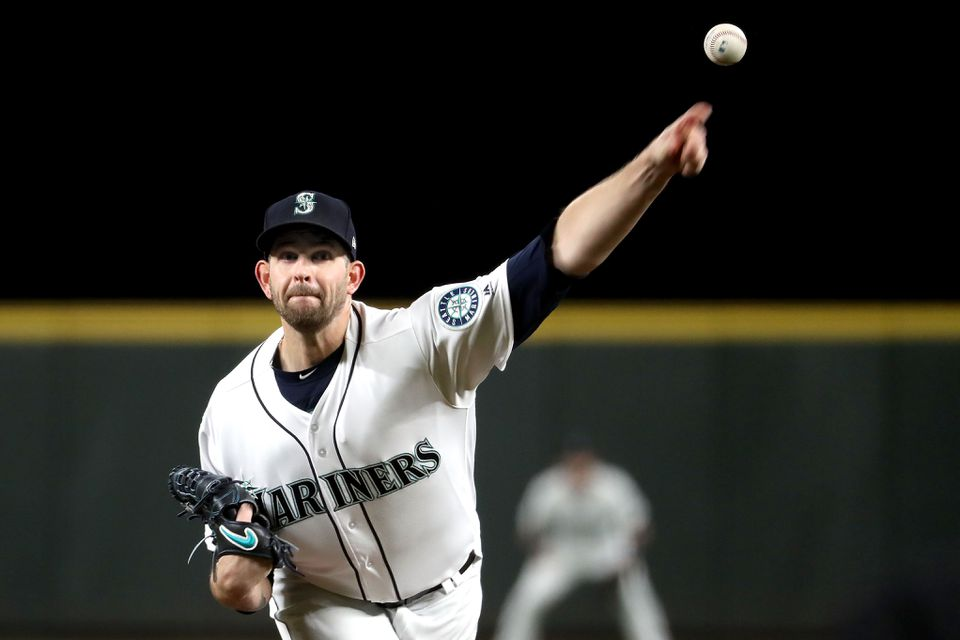 The Yankees acquired James Paxton from the Mariners on Nov. 19.