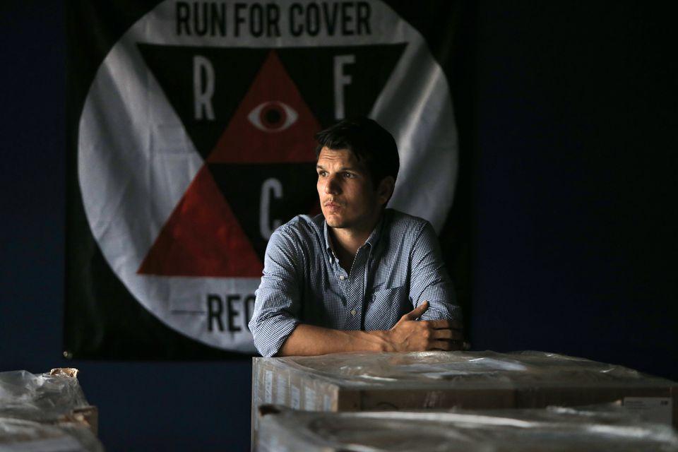Run for Cover Records founder Jeff Casazza.