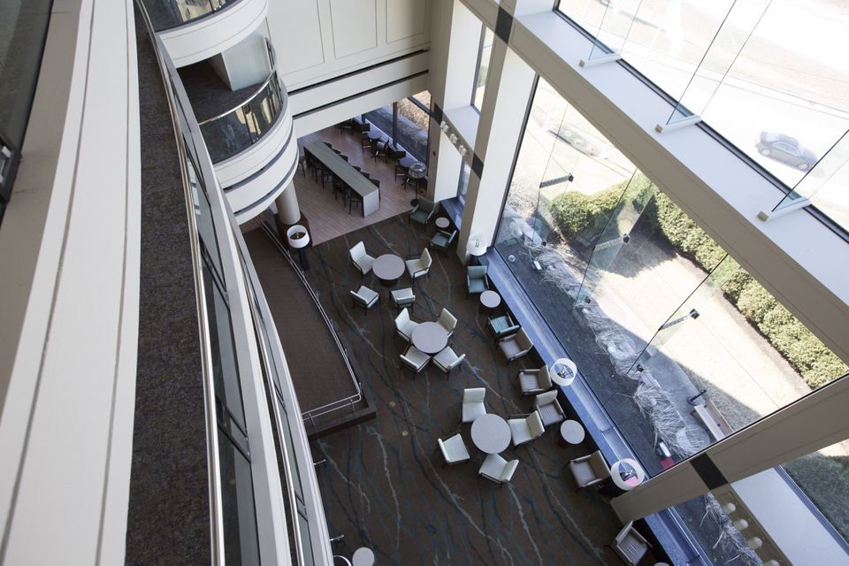 The Westin Hotel in Waltham has 351 rooms.