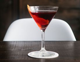 A House Manhattan at Portland Hunt + Alpine Club.