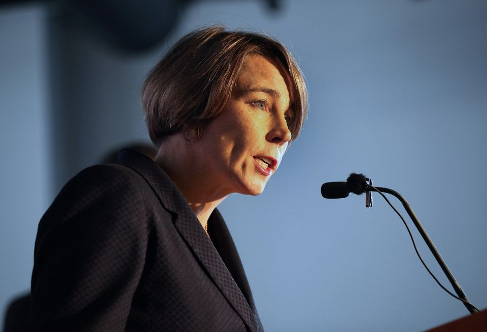 Maura Healey is among state attorneys general who are investigating Exxon Mobil and climate change.