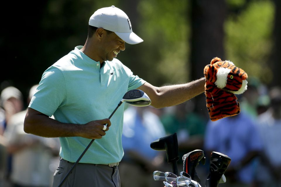 Tiger Woodss Distinctive Head Cover Named Frank Will Be On Display At Augusta This