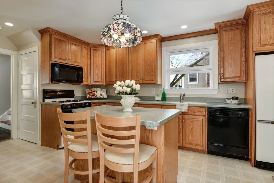 The home's kitchen.