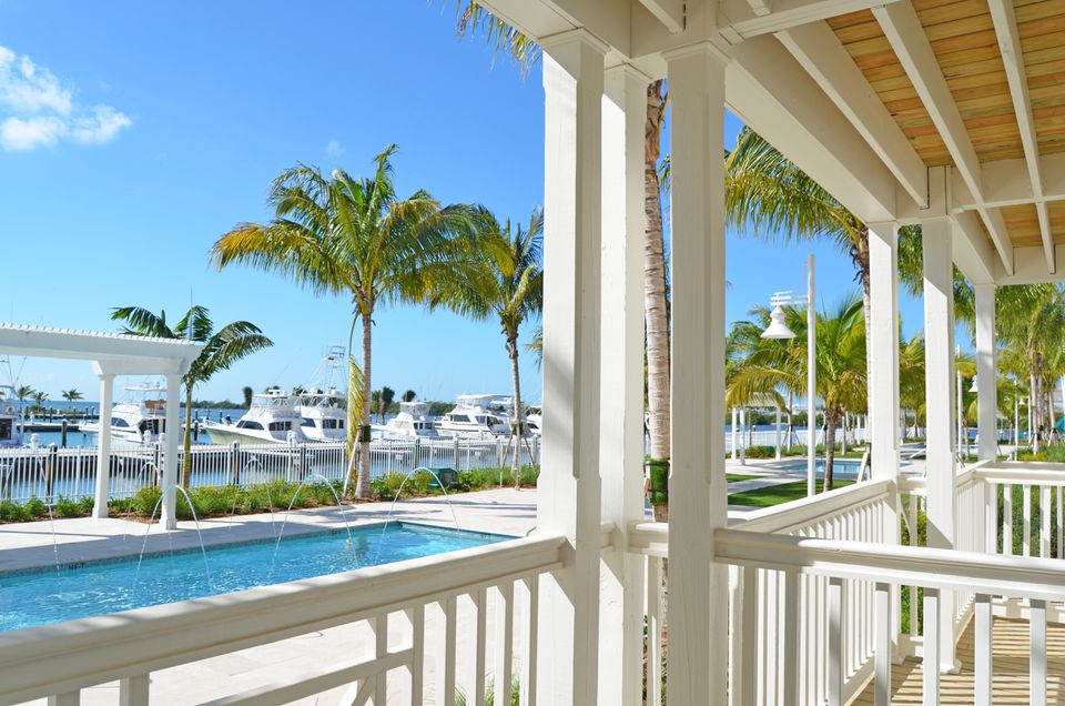 Oceans Edge is the largest hotel and marina complex in the Keys.