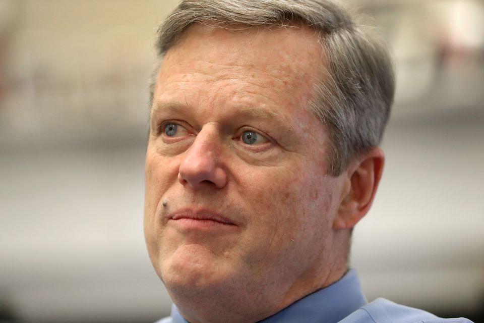 Governor Charlie Baker.