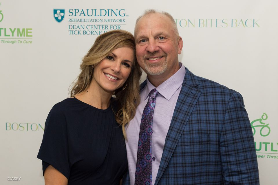 Christine Grace and Sean Green at the Boston Bites Back gala.