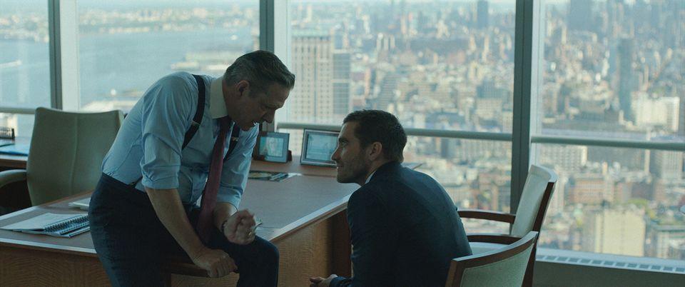 """Chris Cooper (left) and Jake Gyllenhaal in """"Demolition."""""""