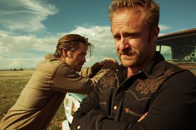 """From left: Chris Pine and Ben Foster in """"Hell or High Water."""""""