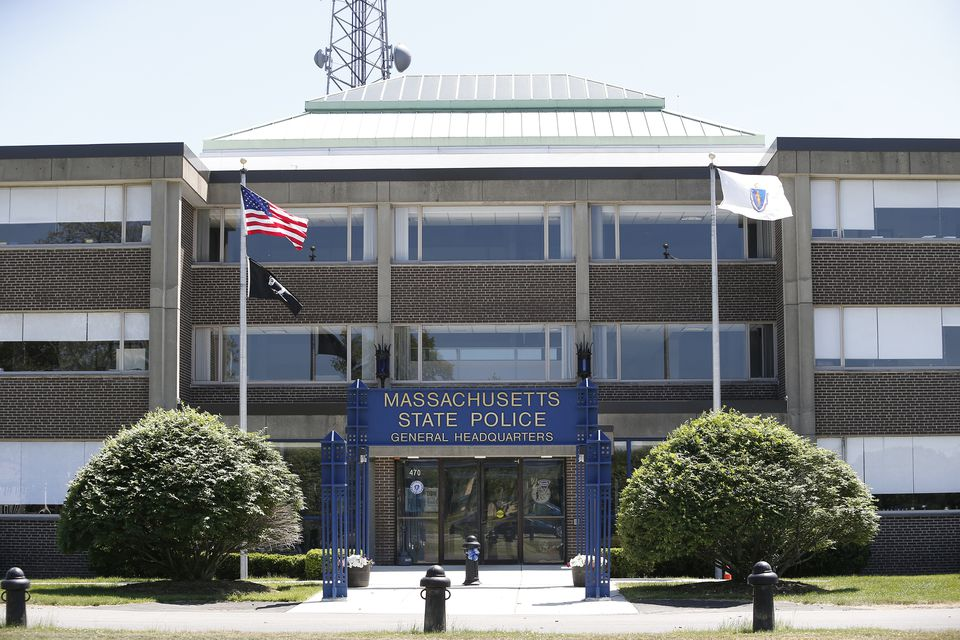 The State Police headquarters in Framingham.