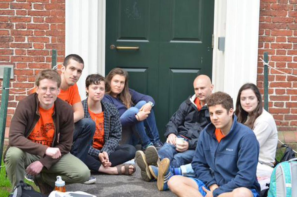 Students from Harvard are protesting fossil fuel investments.