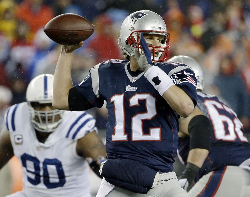 The NFL is investigating whether the Patriots deflated footballs that were used in their AFC championship game victory over the Colts.