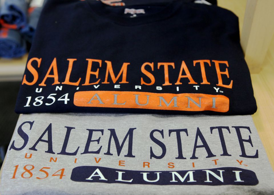 """If a student is responsible for the graffiti at Salem State, he or she would face """"immediate dismissal from the university."""""""