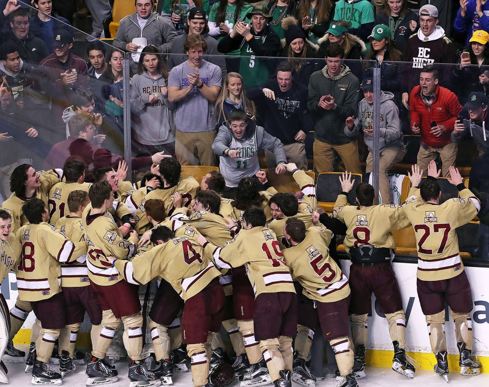 BC High defeated Pope Francis in the Super 8 championship game.