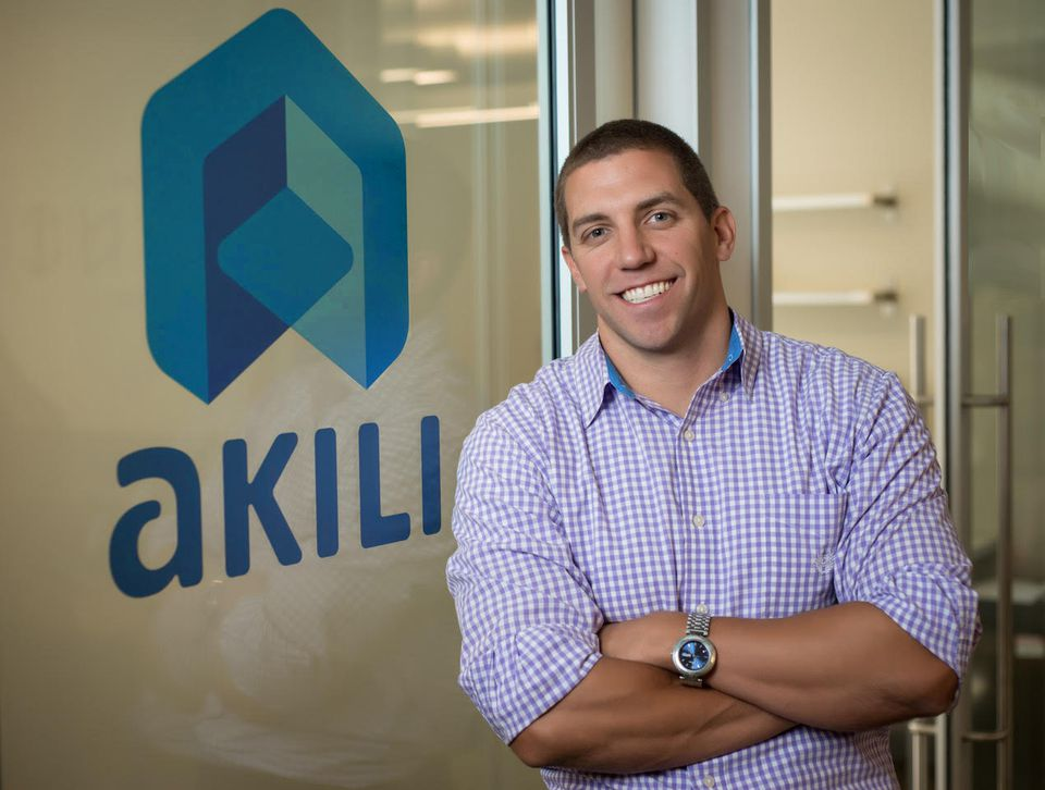 "Eddie Martucci is CEO of Akili Interactive, a Boston startup developing ""digital therapeutics."""