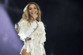 Beyonce performing in May in Canada.