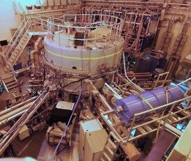 The Alcator C-Mod is being used in an experiment to study how to harness nuclear fusion — combining atoms — to produce energy. The experiment had been slated for shutdown.