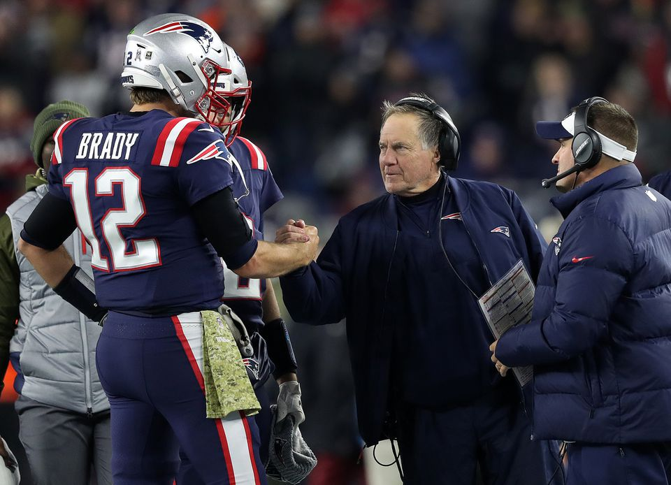 Tom Brady and Bill Belichick appear to be communicating better this season.