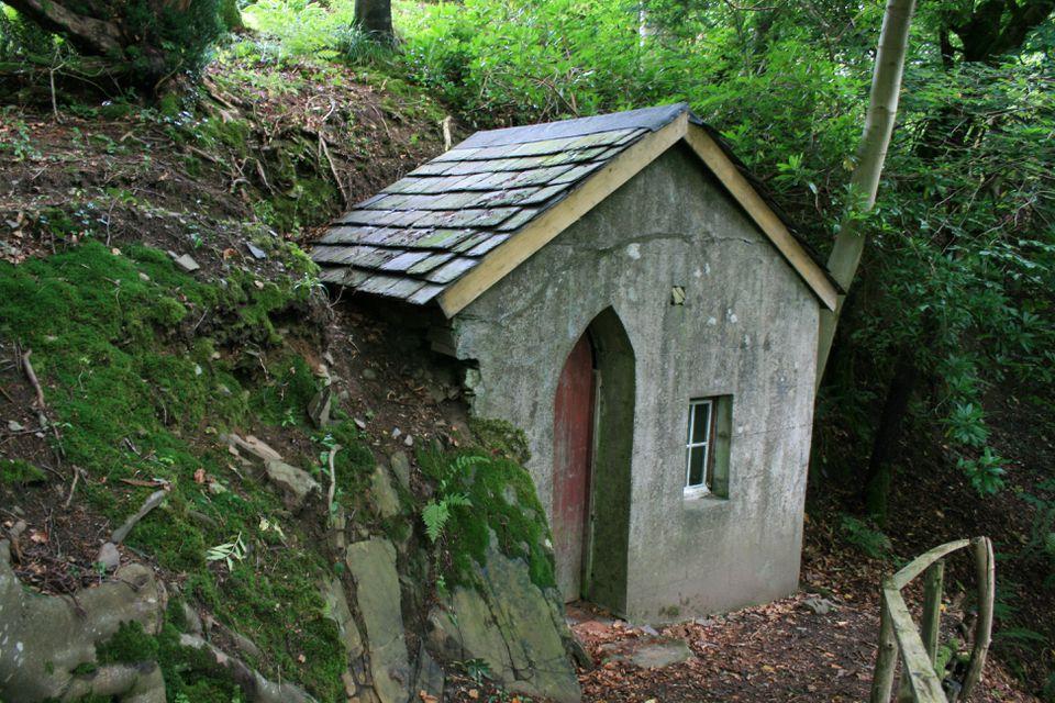 A hermitage at Craigieburn in Scotland.