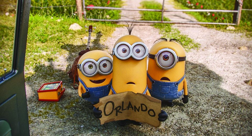 """In """"Minions,"""" the """"Despicable Me"""" henchmen set out on an adventure."""