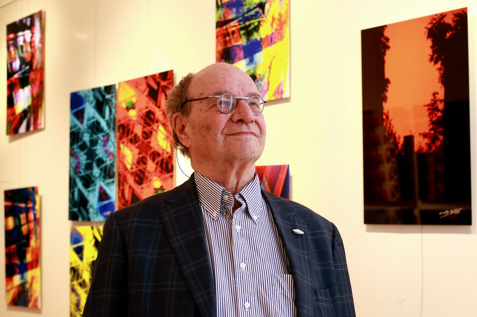 The bold work reflects the creative spirit of the 82-year-old physicist turned biologist.