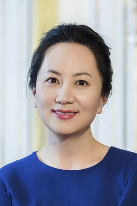 Huawei's chief financial officer Meng Wanzhou is seen in a portrait photo.
