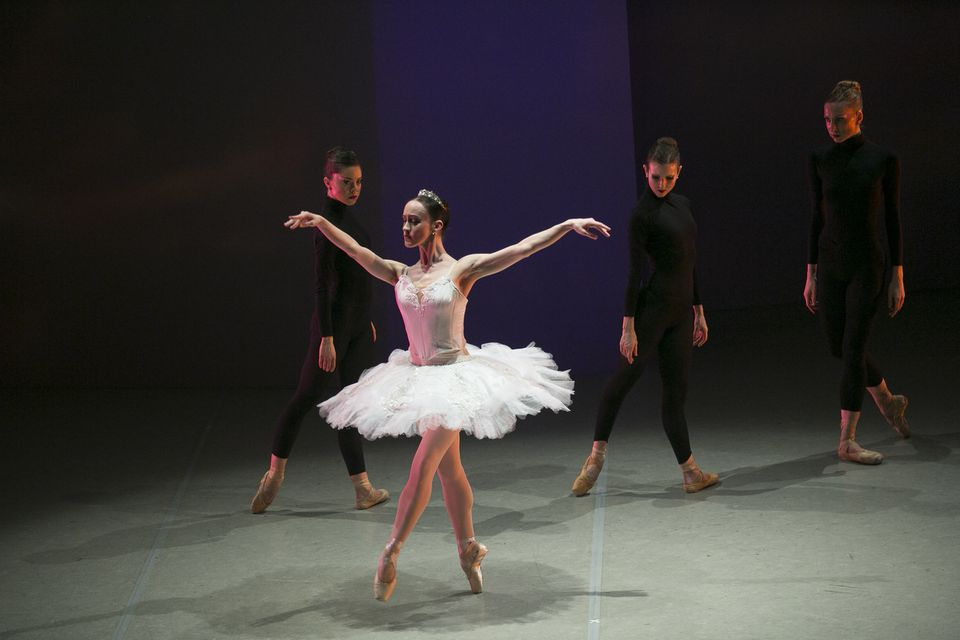 """Madeline Bonn (foreground) in  """"House of Ballet."""""""