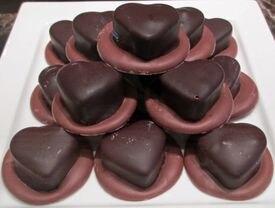 Heartfelt cherry treats at Bridgewater Chocolate.