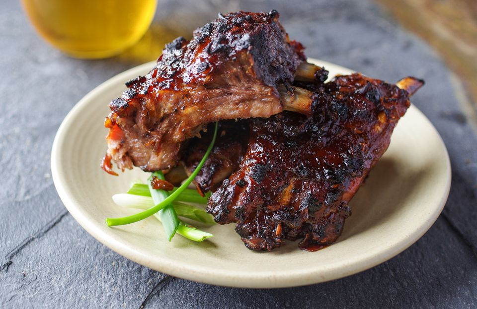 Chinese-style pork ribs