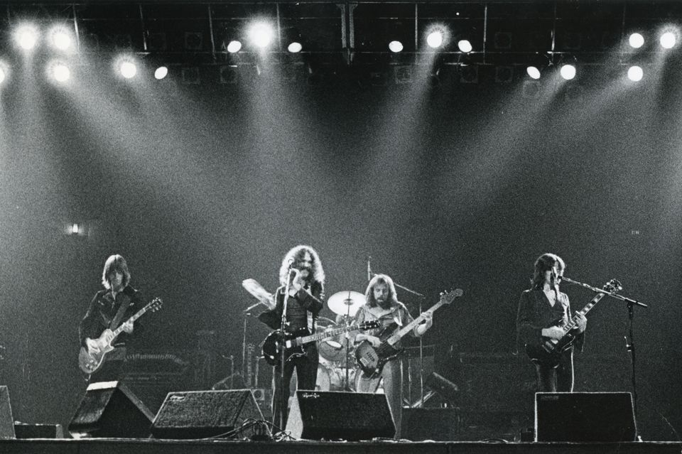 Boston in concert at the Garden in 1978.