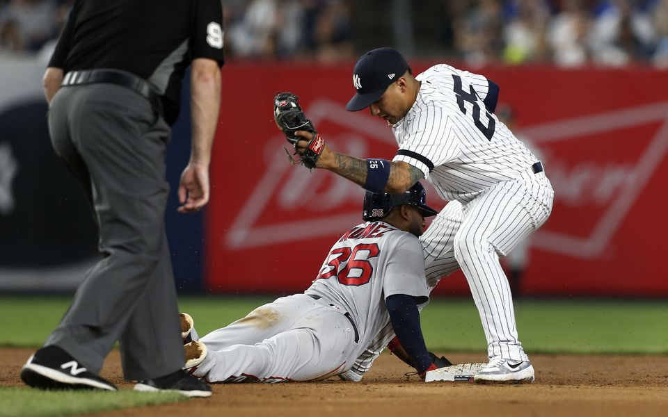 Boston Avoids Sweep, Tops Yankees 8-5 In Series Finale