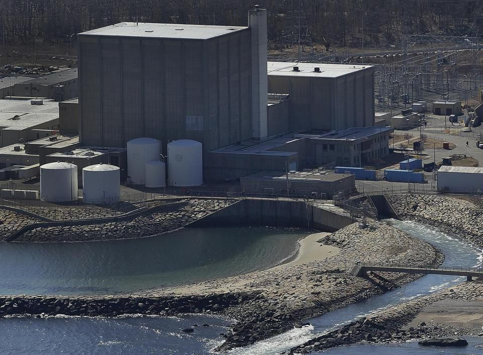 Pilgrim Nuclear Power Plant.