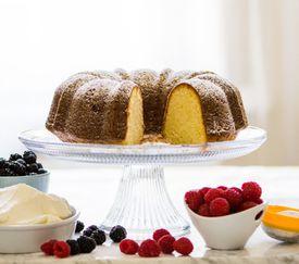 Butter Bundt pound cake