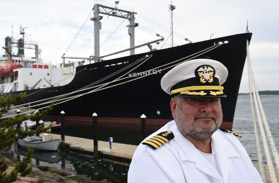 Captain Joseph S. Murphy, an instructor at Massachusetts Maritime Academy, is seen as an expert on US Coast Guard licensure exams, based on a lifetime of navigating on tankers and carriers.